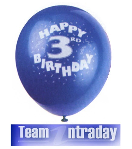 Team Intraday 3rd Birthday