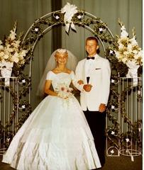 Clayn & Karen on their wedding day 2-11