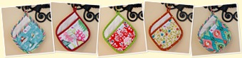 View Holiday Potholders