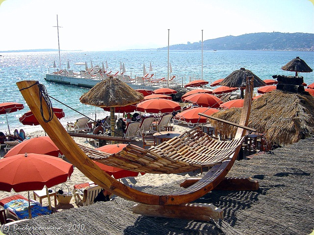 JLP - Orange umbrellas and a rooftop hammock1