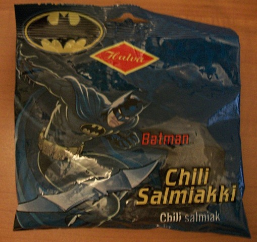 Batman Salmiakki Package