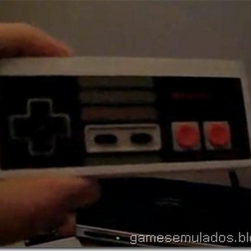 Celular Samsung Eternity adaptado dentro de um controle de NES
