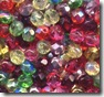 6mm Fire Polished Bead Mix Flamenco
