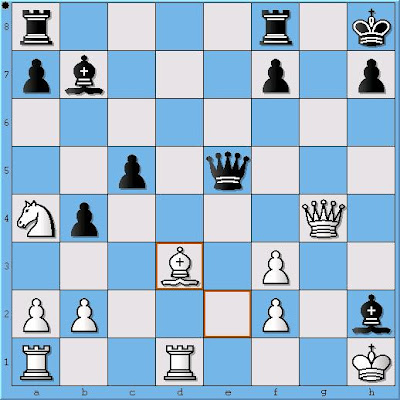 GM Larry Kaufman - IM Lev Milman, Position 2