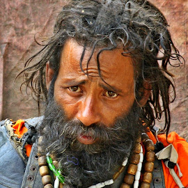 A man by Emran Hossain - People Street & Candids ( portrait and people, mad, people, portrait )