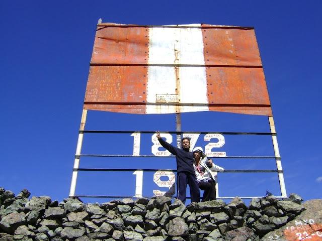 Cumbre en el Monte Meiggs