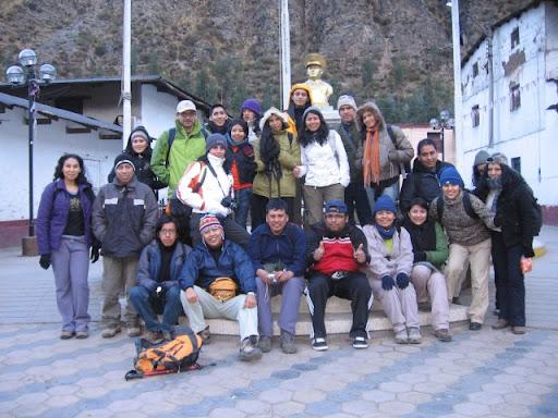 Foto Grupal en Chicla