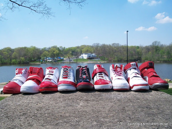 Throwback Thursday Zach8217s Nike LeBron Ohio State Collection