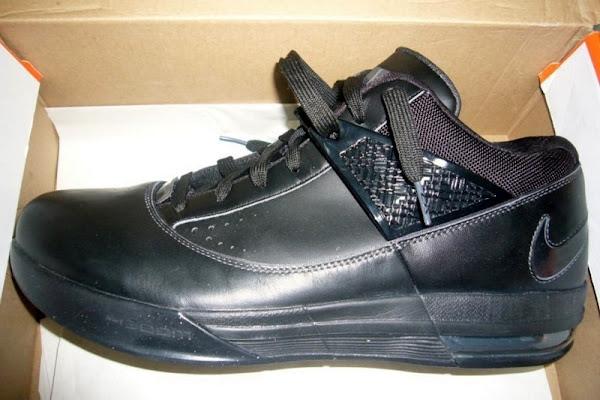 Nike Zoom LBJ Ambassador III 8211 Triple Black WT Sample Version