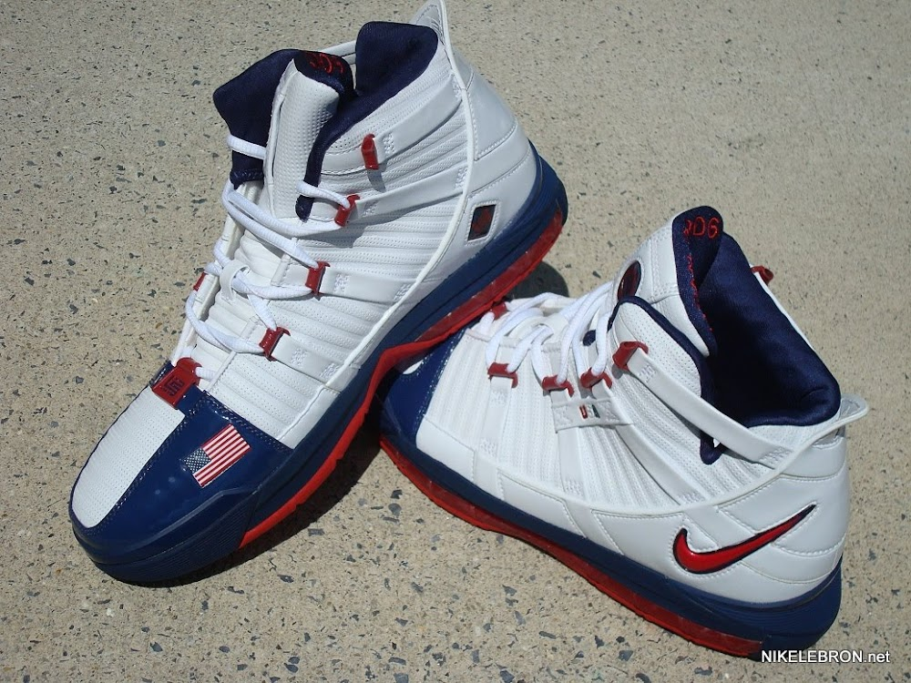 1cfdb2d46ccb Throwback Thursday Nike Zoom LeBron III USA Basketball PE ...