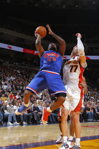 Mismatched and on a Roll LeBron Again with Two Shoes Cavs Win