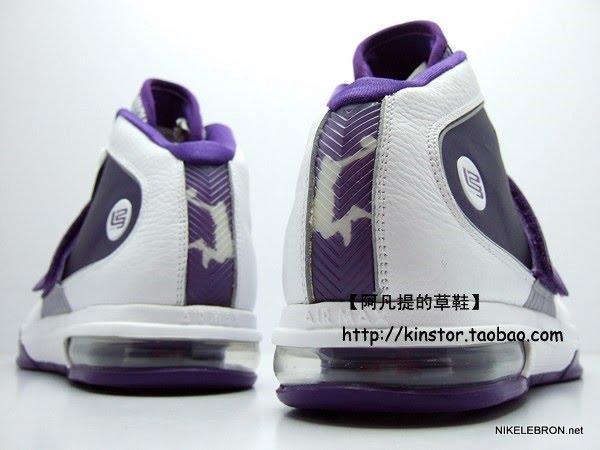 Nike Zoom Soldier IV TB WMNS 8211 WhitePurple Sample New Photos