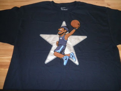 news mvpuppets all star tee lebron Kobe & LeBron MVPuppets Nike Basketball All Star 2010 Tees