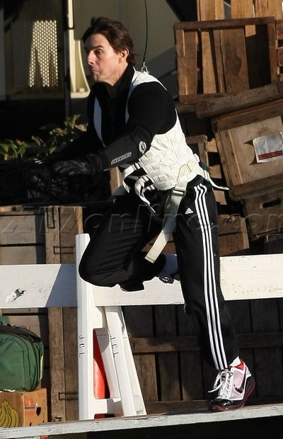 Wearing Brons 8211 Tom Cruise Does His Stunts Sporting LeBron VII8217s