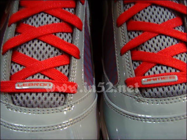 Cool GreyVarsity RedWhite Nike Max LeBron VII 7 First Pics