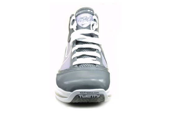 Cool Grey  White Nike Air Max LeBron VII Coming in March