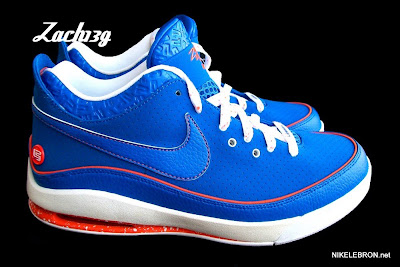 nike air max lebron 7 low gr white royal orange 2 05 Nike Air Max LeBron VII Low   Rumor Pack   I Love NY is Real!