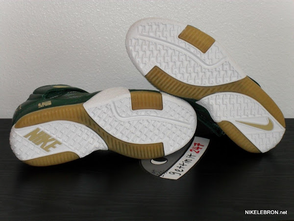 Nike Zoom LeBron II SVSM Away PE Sample 8211 Rare Alternate