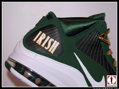 nike air max lebron 7 pe svsm away 3 02 Air Max LeBron VII (7) SVSM Away Player Exclusive Showcase