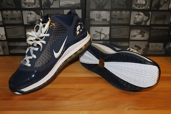 After the Drop Nike Air Max LeBron VII 8220Akron Zips8221 Close Ups