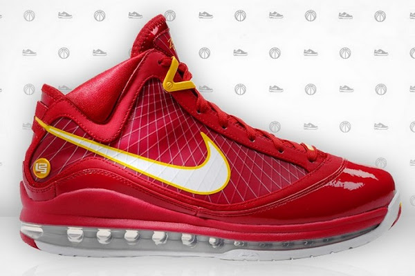 Nike Air Max LeBron VII CavFanatic Player Exclusive 8211 New Photos