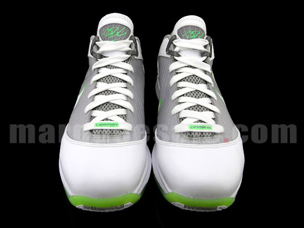Nike Air Max LeBron VII Low Grey amp Mean Green aka Dunkman