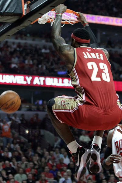 Cavs Crush Bulls LeBron Delivers Fifth Career Playoff TripleDouble