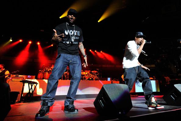 LeBron Rocking Black ZLVI During Concert for Obama with JayZ