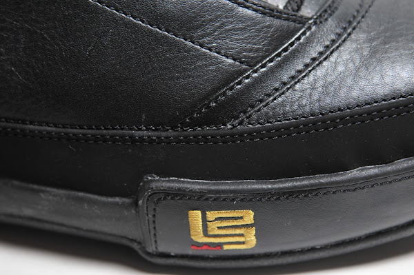 BlackGold and WhiteNavy Zoom LeBron Low ST Detailed Pics