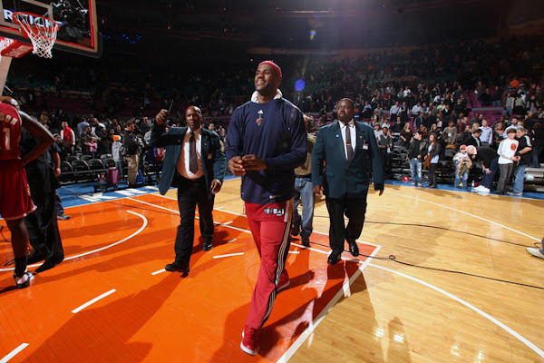 LeBron Visits New York City Breaks Out the Big Apple VI8217s