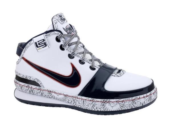 United We Rise Nike LeBron VI Hits NikeStore Dot Com