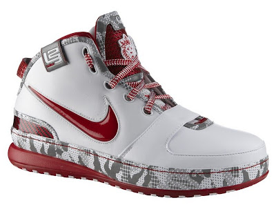 nike zoom lebron 6 gr white crimson grey 1 01 LeBrons HOME PE ZL6 is Available for Purchase in Europe!