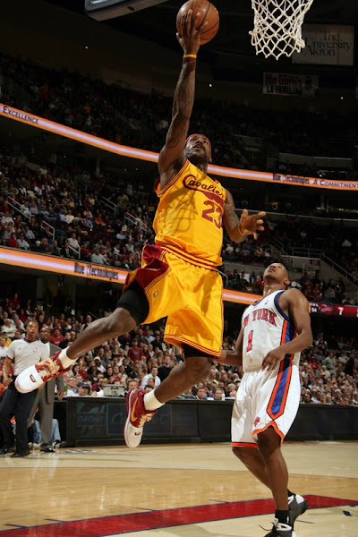 Cavaliers on a Roll LeBron James Breaks out the HWC ZLVI