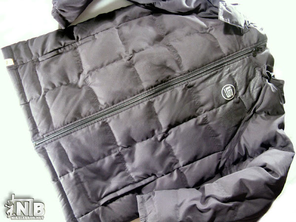 Nike LeBron James 2008 Black Winter Jacket Photos