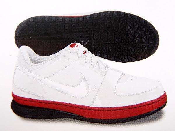 Nike Zoom LeBron James VI Low BLackWhiteRed Edition