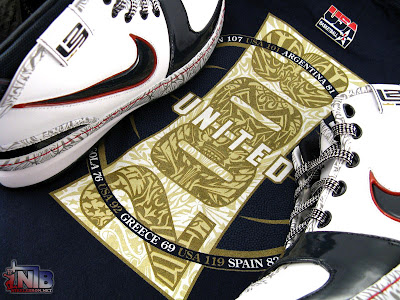 nike zoom lebron 6 pe olympic united we rise 14 45 USA Basketball United We Rise LeBron Six Showcase