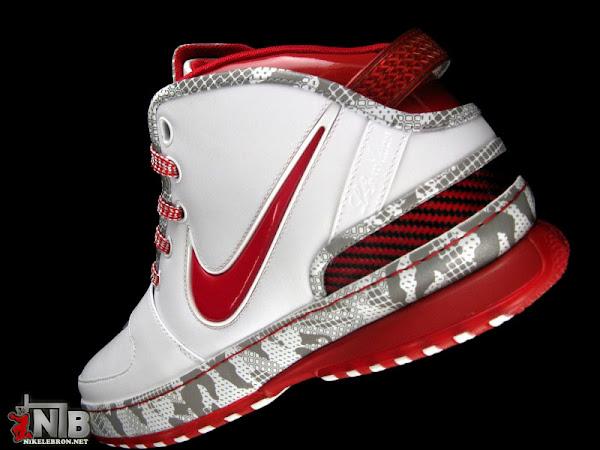 Ohio State Buckeyes Nike Zoom LeBron VI aka Home 8220PE8221 Showcase