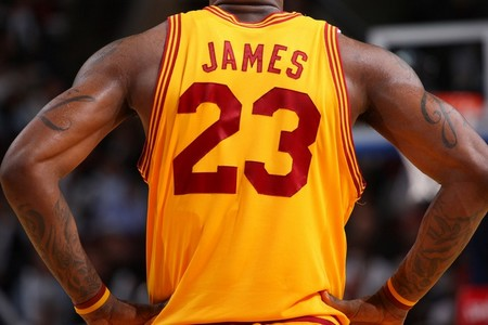 lebron james tattoo 613 arms l j script small Tattoos