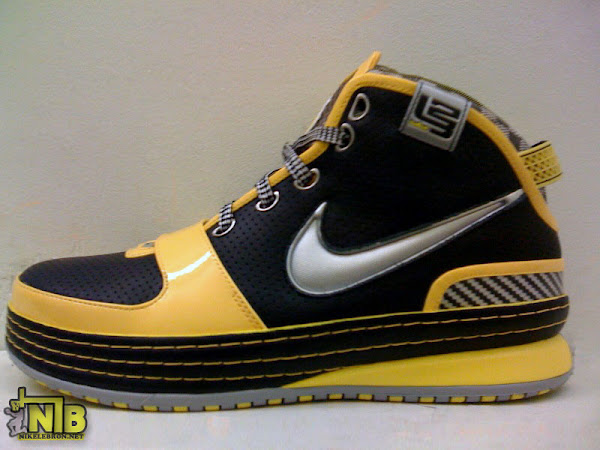 Upcoming Nike Zoom LeBron VI NYC Taxi Real Pictures