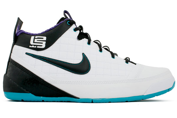 Hornets Nike Zoom LBJ Ambassador Available at Kixfiles