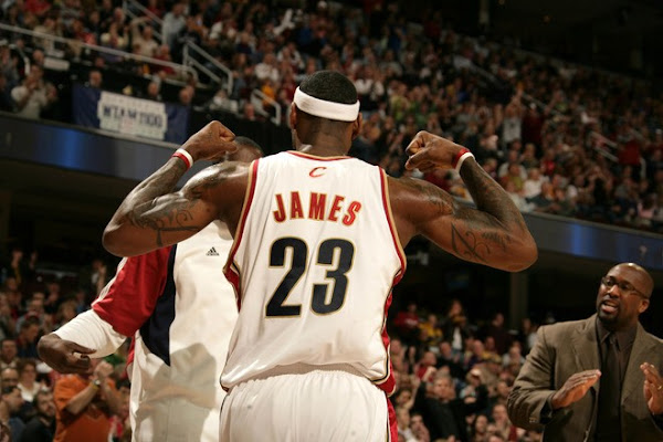 LBJ Wins 8216Player of the Week8217 for NBA AllTime Best Seventh Time