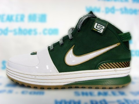 Nike Zoom LeBron VI SVSM Away Alternate Heel Tab