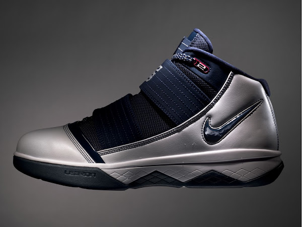 Coming in June8230 White and Navy Nike Zoom Soldier 3
