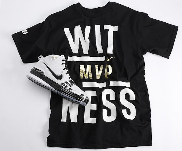 LeBron James Most Valuable Player Pack 8211 Witness Tee and Shoes