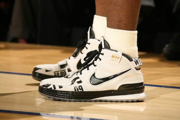 Couple New Shots of the MVP Six Live From CavsHawks Game 1