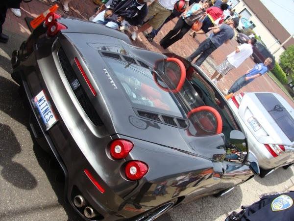King James Style 8211 Driving Ferrari to Pick Up NBA MVP Award