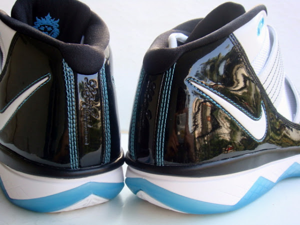 Answering the Call 8211 LeBron8217s ZSIII Aqua with Patent Leather
