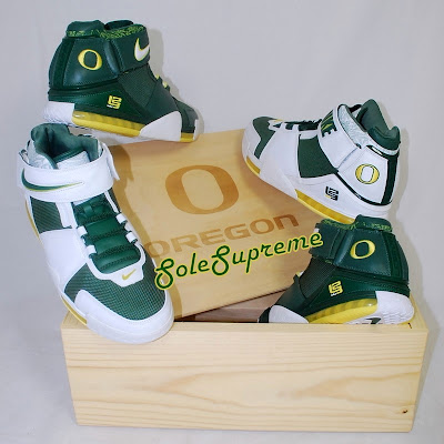 nike zoom lebron 2 pe oregon set 1 02 Throwback Thursday: Nike Zoom LeBron II Oregon Ducks PEs Set