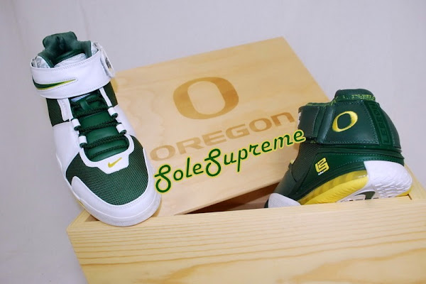 Throwback Thursday Nike Zoom LeBron II Oregon Ducks PEs Set