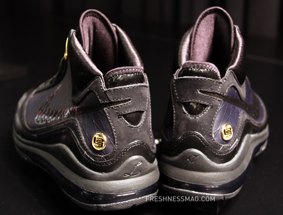 27bc3d679705 ... Upcoming Nike Air Max LeBron VII 8211 BlackMetallic Gold ...